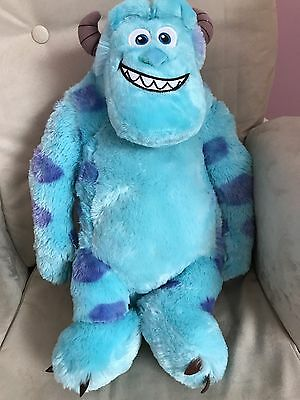 Large Monsters Inc Sulley Plush Cuddly Toy Disney / Pixar