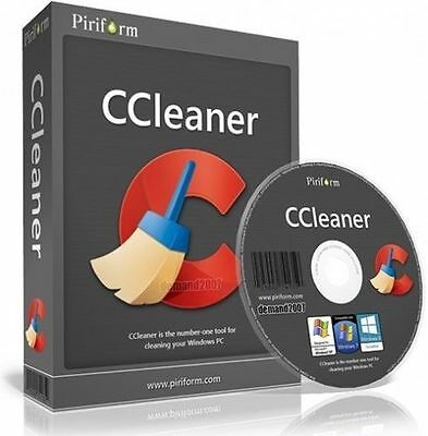 Piriform CCleaner Professional PRO v5 2017,Pc faster and Secure,Lifetime Licence