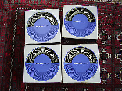 4 photo slide projector rotary trays