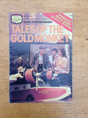 Tales Of The Gold Monkey. Official Tv Poster Magazine