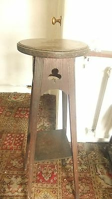 Antique Wooden Plant Stand
