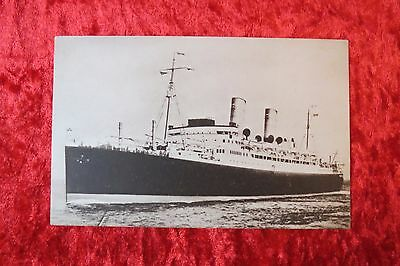 Ship Cruise Liner Postcard Duchess of Atholl