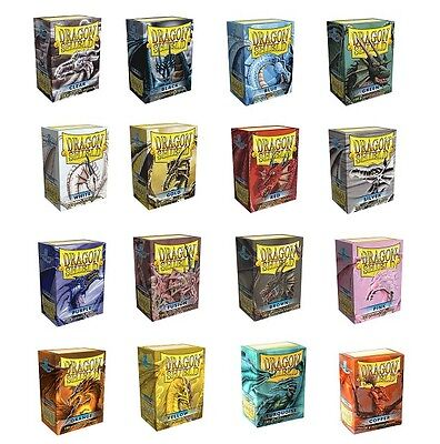 100 Bustine Protettive Dragon Shield Magic Pokemon Standard