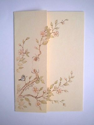 Ambassador Cards ~ VINTAGE BLANK NOTE/GREETING CARD & ENVELOPE