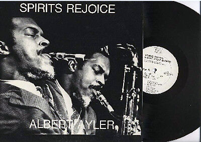 Albert Ayler - Spirits Rejoice - Eps Usa Original Nm/nm Megarare Avantgarde