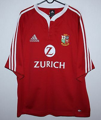 2005 British and Irish Lions tour to New Zealand rugby shirt Adidas size - L