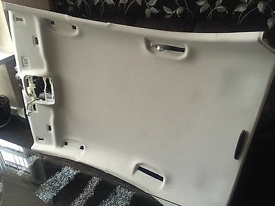 2015 Mercedes Benz C Class W205 Headlining Roof Lining With Trims