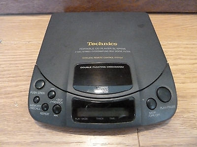 Technics Sl-Xp505 Portable Cd Player, 8 Times Oversampling, 18 Bit Tested