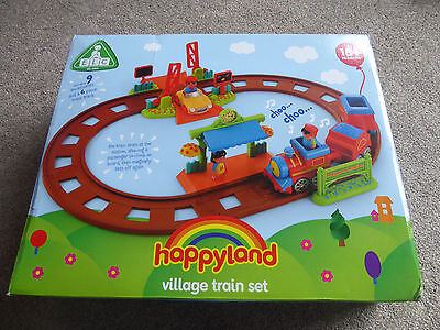 ELC Happyland Village Train Set - Complete Set With Box