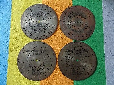 """Kalliope c.9"""" or 23.cm Music Musical Box Discs x 4 Not Symphonion or Polyphon"""