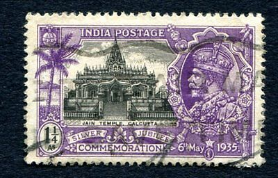 1935  1 1/4a  India Stamp ( Used )