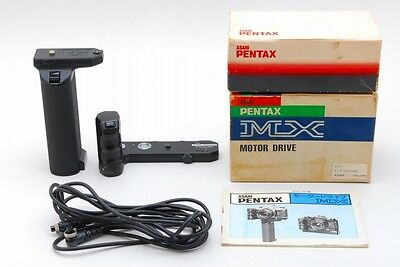 【Rare Set! AB Exc+】PENTAX Motor Drive MX / Battery Grip M w/Box From JAPAN #2839