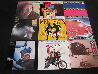 60 MAXI SINGLES DISCO BLACK ROCK POP 70´s 80´s MAXIS STING SPANDAU FRANKIE TEARS