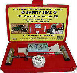 Safety Seal Product.....Tire Repair Kit