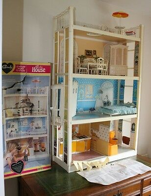 Vintage Sindy House & Furniture Spares or Repair Box & Instructions SOLD AS SEEN