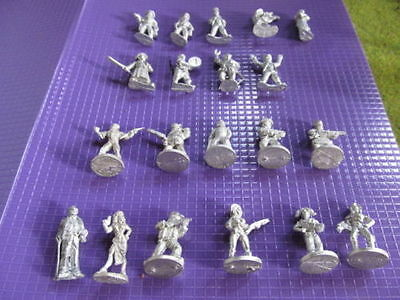 Foundry Street Violence Sci-fi Cthulhu Gothic Darkest Africa RPG Miniatures