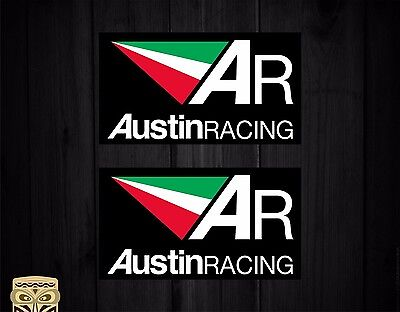 Adesivo Decal Sticker Autoadesivo Adesivi Aufkleber Austin Racing Exhaust