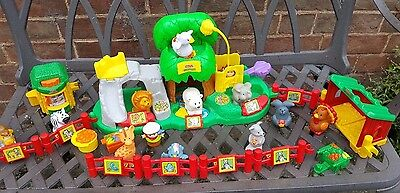Little People - Zoo bundle with sounds figures etc...