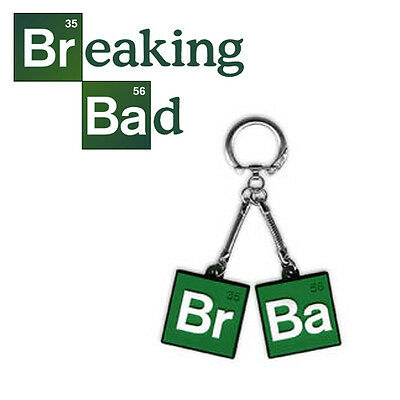 Breaking Bad Br 35 Ba 56 Logo Keychain Key Ring Officially Licensed Merchandise