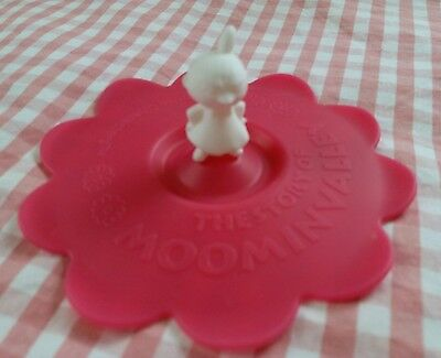 Moomin Characters Little My Red Silicone Anti-dust Cup Cover