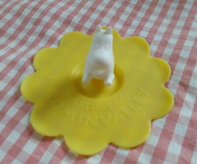 Moomin Characters Moomintroll  Yellow Silicone Anti-dust Cup Cover