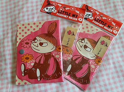 Moomin Valley Character Little My Pink Passport Holder 1