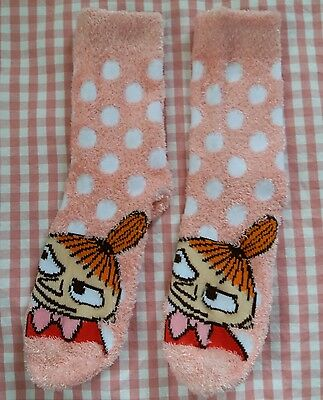 Moomin Valley Character Little MY Short Sock One Pair 22-24cm Pink