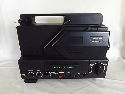 Chinon sound SP-330 8mm projector