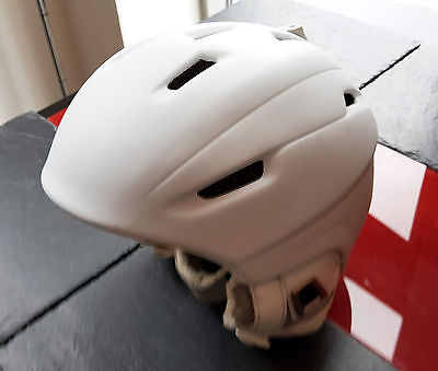 Salomon Icon Custom Air White Ski Snowboard Helmet M 56-59cm