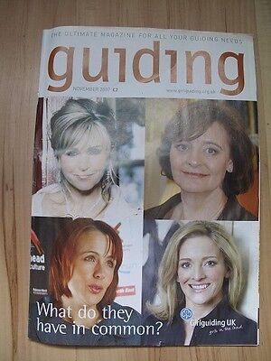 Girl Guiding UK Magazine (November 2007)
