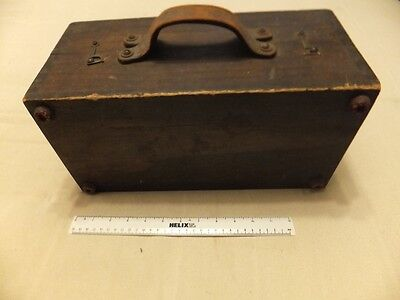 Crompton Parkinson Vintage Tong-Test Clamp Ammeter in wooden case,3 extra scales