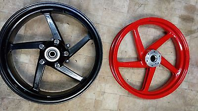 Aprilia RS 250 Front and Rear Wheels Genuine OEM