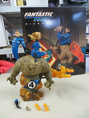 Sideshow Collectibles Fantastic Four Diorama Statue Set Marvel *please Read*