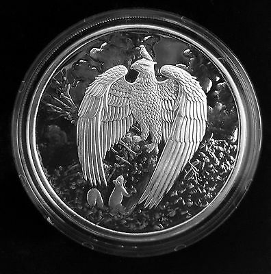 Nordic Creatures - THE GEAT EAGLE 1 oz Silver Proof Round