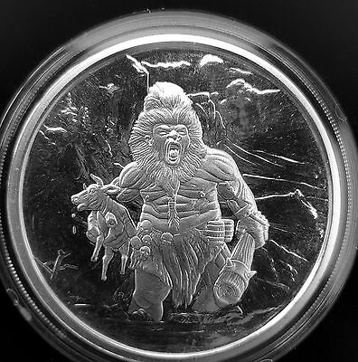 Nordic Creatures - FROST GIANT 1 oz Silver Proof Round