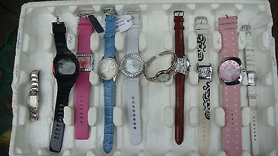 TRADE ONLY JOB LOT OF 10 X  MIXED PROTOTYPE  WATCHES 100% gen //////