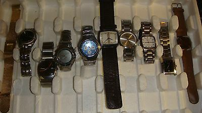 Trade Only Job Lot Of 10 X  Mixed  Watches 100% Gen.. //