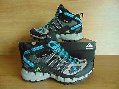 Womens Adidas AX 1 GTX Gore-Tex Walking Hiking Boots, Size UK 4, Blk/Gry