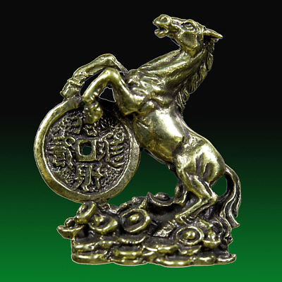 Lucky Casino Gamble Wealth Amulet FENG SHUI Horse Hunting Money Magic Fetish FS