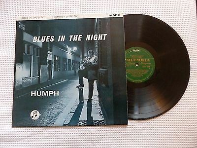 Humphrey Lyttelton & his band Blues in the night LP EX/EX