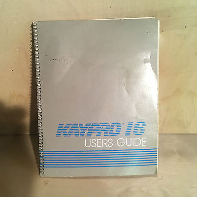 KAYPRO 16 Users Guide