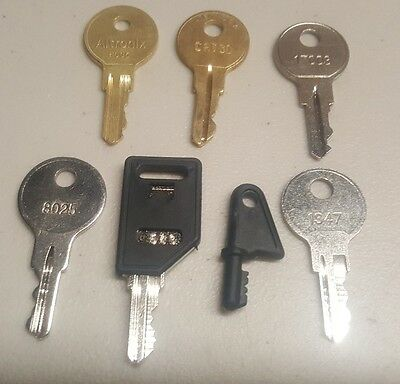 Misc. Fire and Security Key Lot (7 Keys)