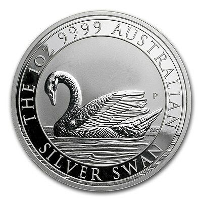 2017 Perth Mint 1 oz Silver Swan