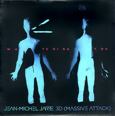 Jean Michel Jarre 3D Massive Attack Watching You RARE Limited too only 1000 NEW