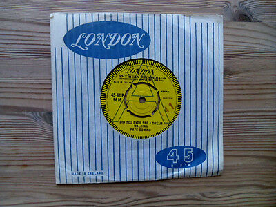 """Fats Domino - Did You Ever See A Dream Walking  UK London  DEMO 7"""""""