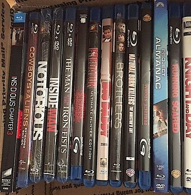 Wholesale Lot Of Blu-Ray +Dvd Discs Used And New