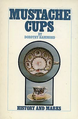700+  Mustache Cups - History Patterns Makers Marks / Color Illustrated Book