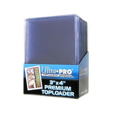 Premium Toploaders Ultra Pro Top Loader Card Storage Clear 3'' X 4'' Pack Of 25