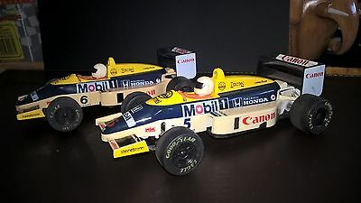 Scalextric williams f1 Mansell and Piquet
