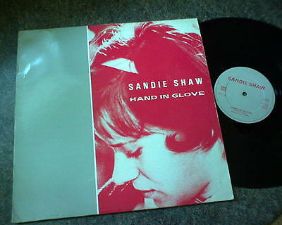 Sandie Shaw - Hand In Glove - 12'' Single  Rough Trade Rtt 130  1984